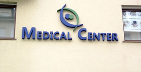 Insegna per centro medico