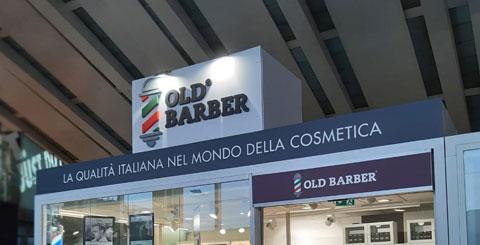 Insegna per negozio di barbiere