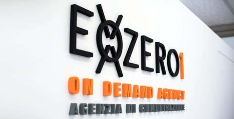 Scritta per ufficio ExoZero1