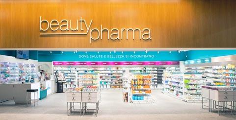 Scritta in polistirolo per farmacia