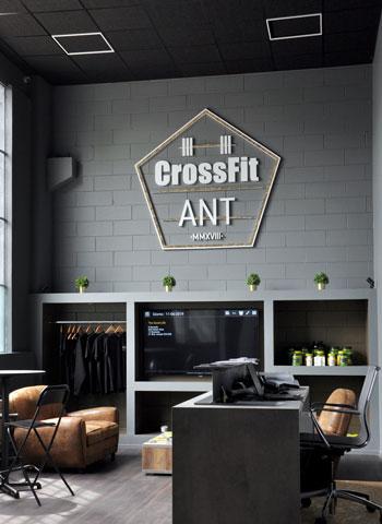 Scritta per centro crossfit