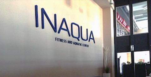 Logo per piscina