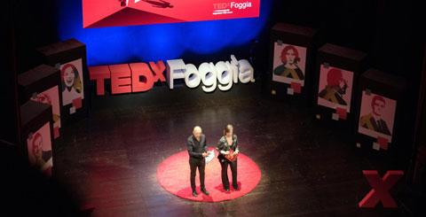 Lettere in polistirolo per TEDX Foggia